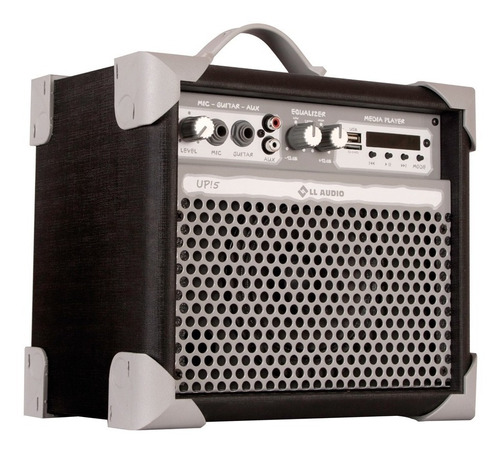 Caixa De Som Amplificada Pequena C/ Bluetooth P10 Up Llaudio