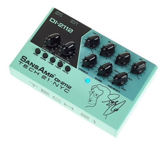 Pedal Tech 21 Di 2112 Geddy Lee Signature Sansamp