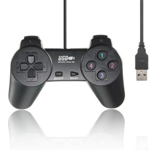 Imagen 1 de 1 de Control Joystick De Juegos Pc Laptop Gamepad Usb