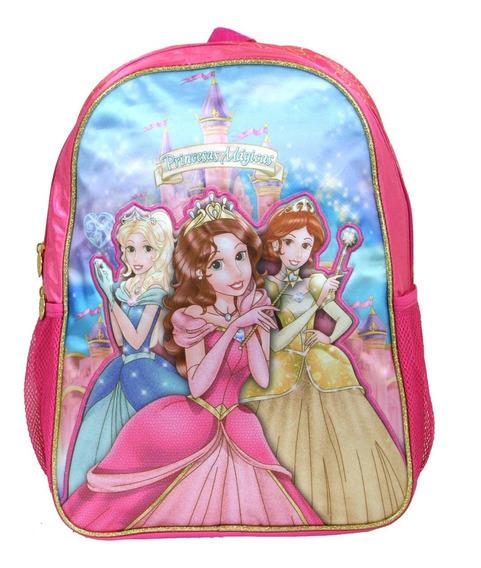 Mochila Escolar Costas Infantil Princesas Mágicas Pr8049j