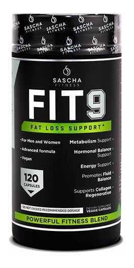 Fit 9 Sascha Fitness Fit9 120 Capsulas