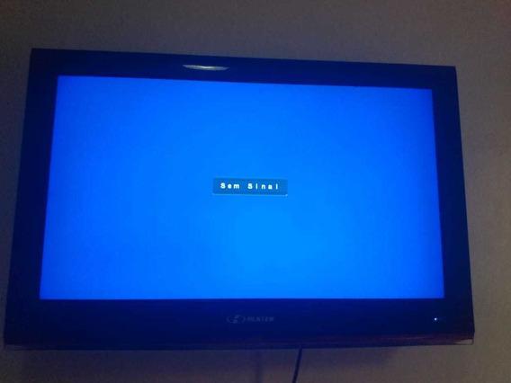 Tv Buster 32 Semi Nova Com Caixa + Conversor Digital