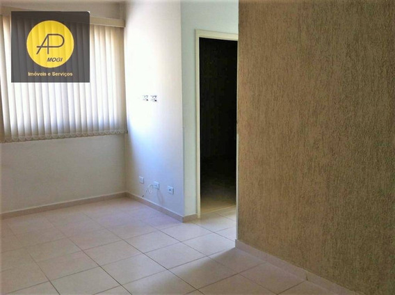 Apartamento À Venda, 52 M² Por R$ 245.000,00 - Vila Mogilar - Mogi Das Cruzes/sp - Ap0165