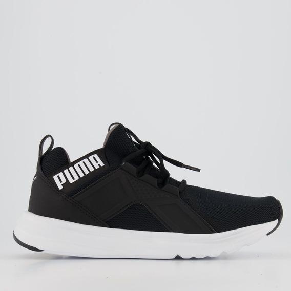 Tênis Puma Enzo Sport Bdp Preto E Branco