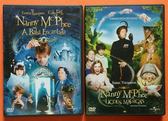 Dvd Nanny Mcphee A Baba Encantada Musica Filmes E Seriados No