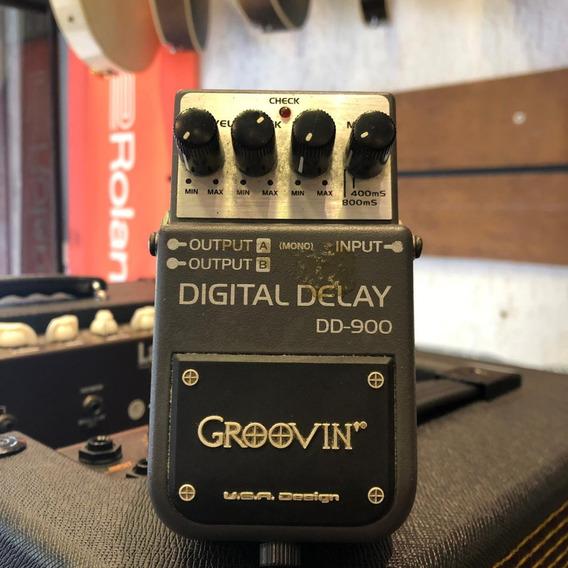 Pedal Groovin Digital Delay Dd900 Ótimo Estado + Nf