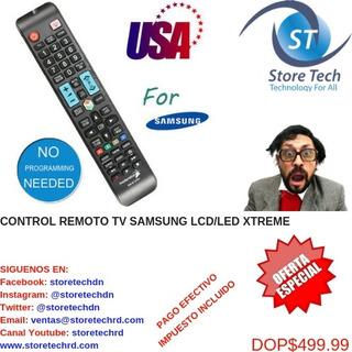 Control Remoto Tv Samsung Lcd/led Xtreme