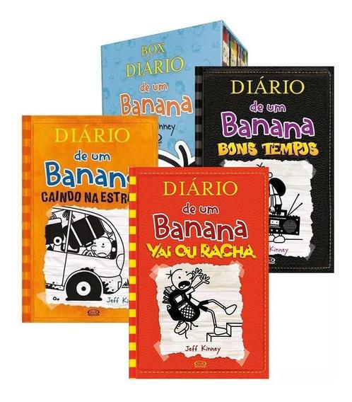 11 Livros Box Diário De Um Banana - Jeff Kinney Novo Lacrado