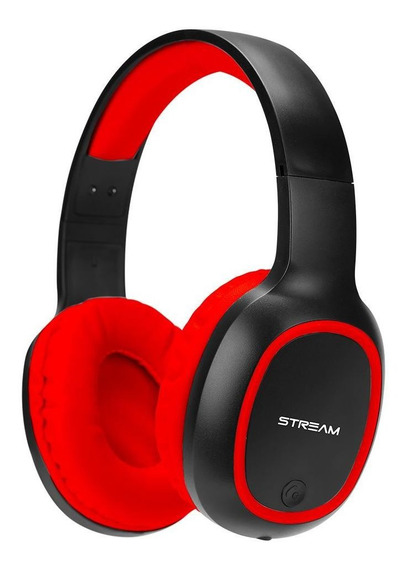 Headset Bluetooth Vermelho Com Microfone ELG - Epb-ms1rd