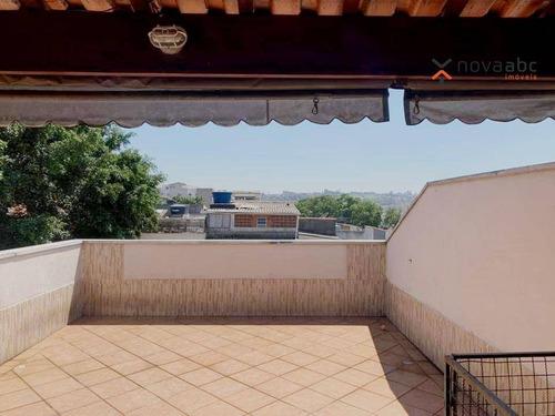 Imagem 1 de 14 de Cobertura Com 2 Dormitórios À Venda, 100 M² Por R$ 320.000,00 - Jardim Das Maravilhas - Santo André/sp - Co0172
