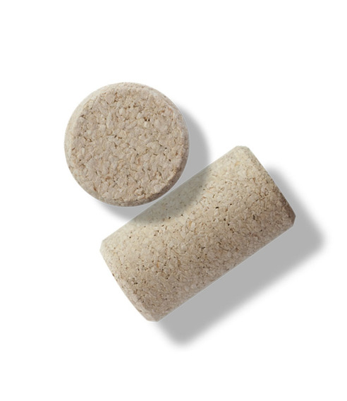 Corchos Botella 3/4 Microaglomerados Tapon Vino (x1000un).