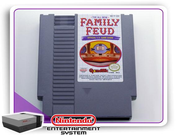 Family Feud Original Nintendinho Nes 8-bits