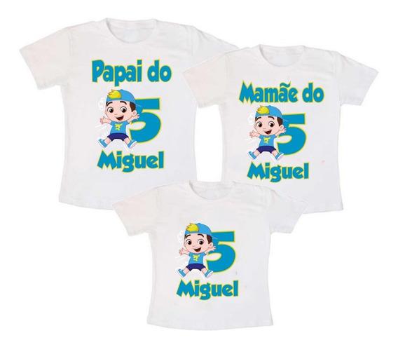 Kit Camisetas Aniversário Luccas Neto + Frete Grátis