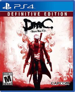 Dmc Devil May Cry Definitive Edition Ps4 - Juego Fisico
