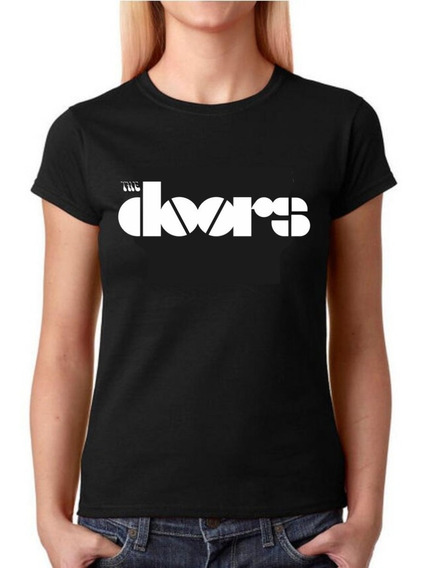 Camisa Baby Look Feminina Rock - The Doors - 100% Algodão!!