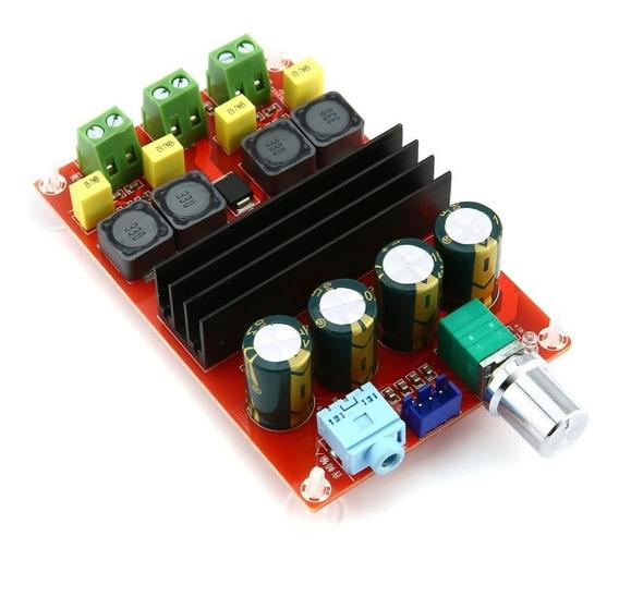 Placa Montada Amplificador 2.0 100+100 200w Rms Ativa Full