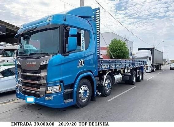 P320 Bitruck 2020 Carroceria Entrada 40.000.00+ Parcelas