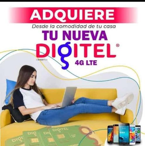 Líneas Digitel 4g Prepago Envíos Nacionales