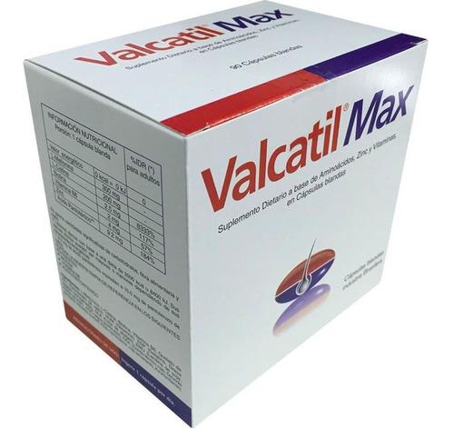 Valcatil Max X120 Caps. Blandas Para La Caida Del Cabello