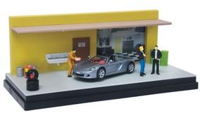 Porsche Carrera Gt Mechanic Diorama 1:43 Motor Max