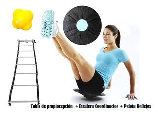 Tabla Equilibrio Propiocepcion Escalera Pelota Coordinacion