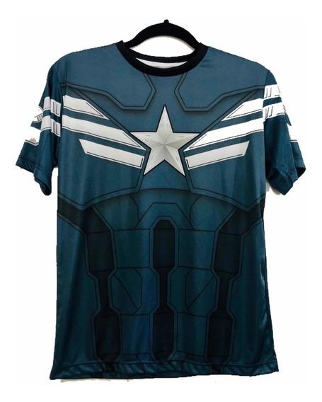 Camiseta Capitão Amarica 2