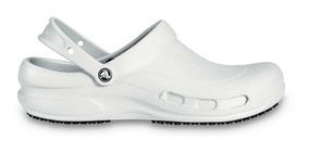 Zapato Doctores, Chefs, Dentistas, Crocs Bistro Blanco Dama