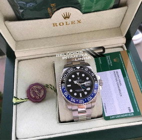 Rolex Batman Gmt Master Ii Com Caixa E Documentos