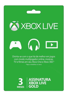 Live Gold 12 Mêses + Assasins Creed Origins