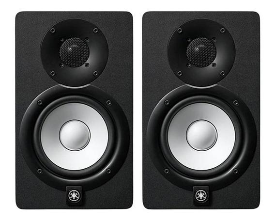 Par Monitor Ativo Referência Yamaha Estúdio Hs5 Preto Ap0341