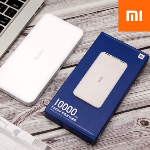 Power Bank Redmi 10,000, Xiaomi, Cargador Portatil