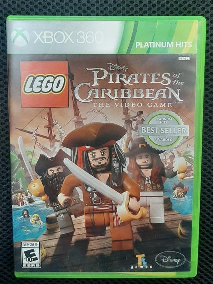 Jogo Xbox 360 Lego Piratas Do Caribe Midia Fisica Original