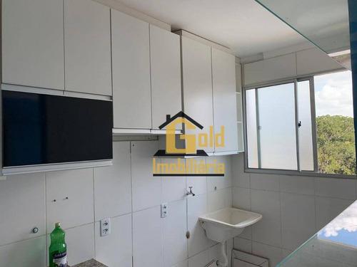 Apartamento Com 2 Dormitórios À Venda, 46 M² Por R$ 175.000 - Jardim Manoel Penna - Ribeirão Preto/sp - Ap1534
