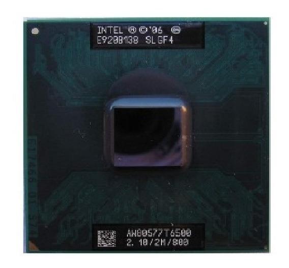 Processador Dual Core Intel 06 T6500 2.10/2m/800