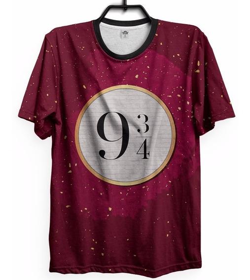 Camiseta Hermione Geek Plataforma 9 3/4 Personalizada