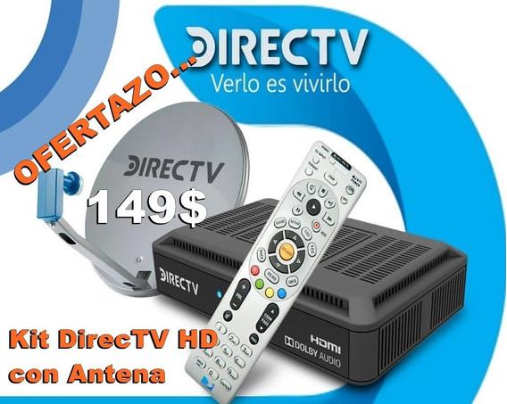 Kit Directv Hd Prepago Decodificador Y Antena Venezolano