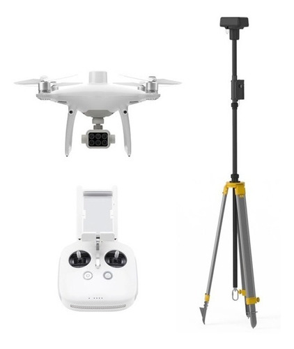 Drone Dji Phantom 4 Multiespectral Rtk + Base Drtk2