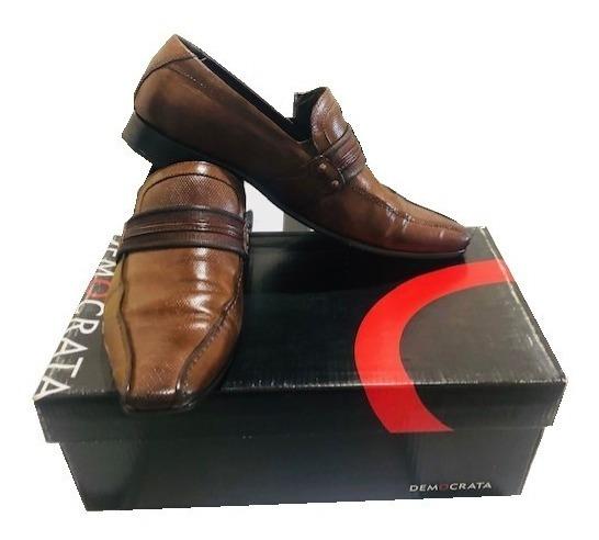 Sapato Democrata Masculina Mono Capuccino 451023-002 Tam 39