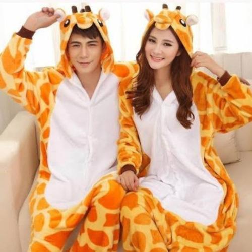 Imagen 1 de 4 de Kigurumi Jirafa  Mameluco Disfraz Pijama