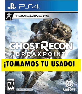 Tom Clancy Ghost Recon Breakpoint Ps4 Fisico Sellado Nuevo