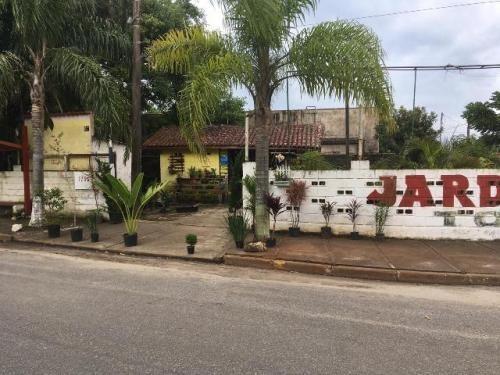 Terreno Com Comércio No Jamaica, Itanhaém, 500 Mts Do Mar