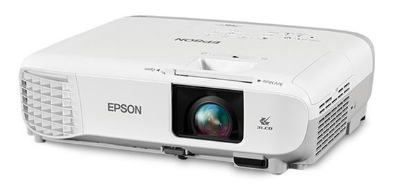 Projetor Epson S39 3300 Lumens Svga Hdmi Branco - V11h854024