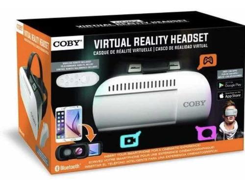 Casco De Realidad Virtual Celular Con Remoto Incluido Coby