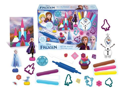 Imagen 1 de 7 de Masas Disney Doh Frozen - Mickey - Spiderman Juego Play Set