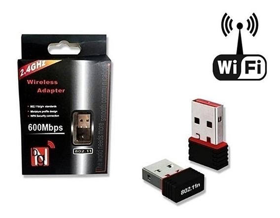 Adaptador Wifi 150m 600mpbs Ultra Rápido 2.4ghz Promoção