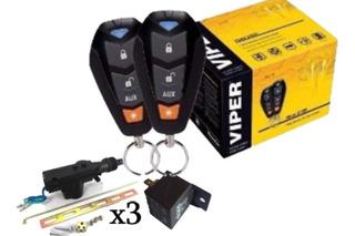 Alarma De Seguridad Viper 3400v Con 3 Relay Y 3 Actuador
