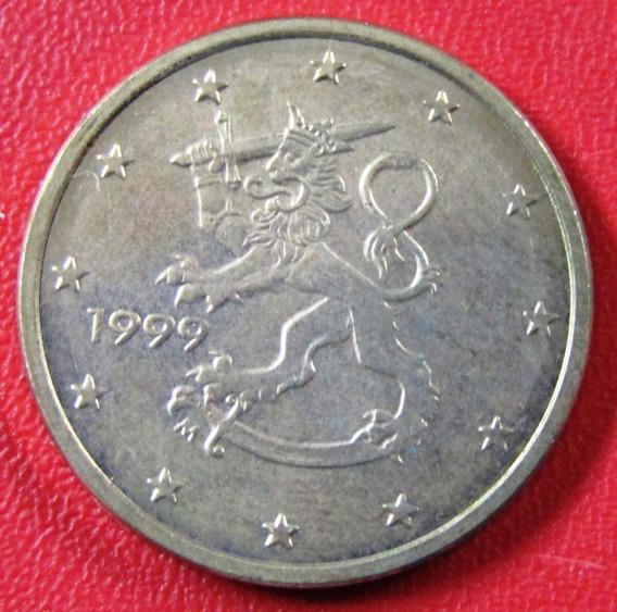 Finlandia Moneda 5 Centavos 1999 Unc Km #100