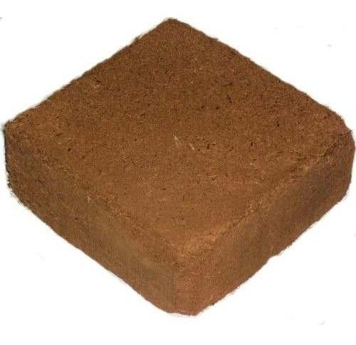 Fibra De Coco 100% En Block Rinde 70 Litros Sustrato Grow