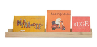 Set 2 Repisas De Madera Montessori Niños Estante Librero Kit