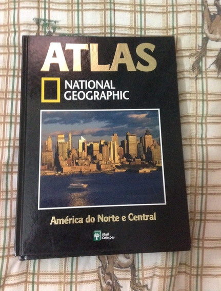 Atlas National Geographic América Do Norte E Central